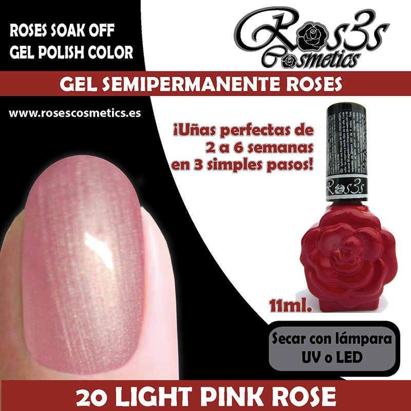 20-Light Pink Rose