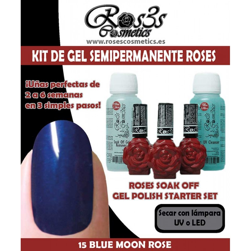 Kit Ros3s color: 15-Blue Moon Rose + Regalo