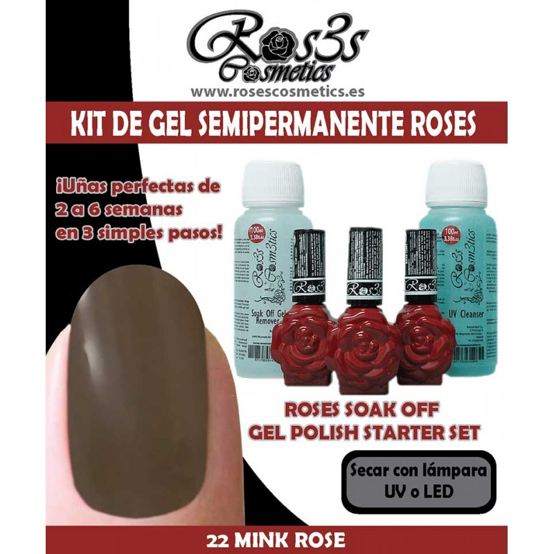 Kit Ros3s color: 22-Mink Rose + Regalo