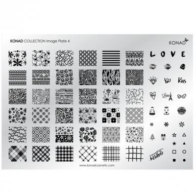 Placa colección 03 Konad