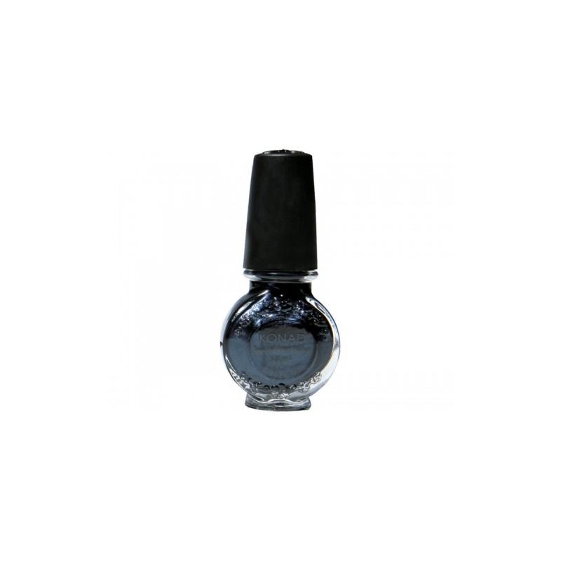 Konad - Esmalte especial grande (10/11 ml) 24 BLACK PEARL