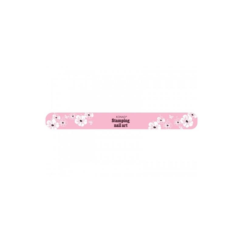 Lima de Uñas 100/180 KONAD - (Diseño Rosa)