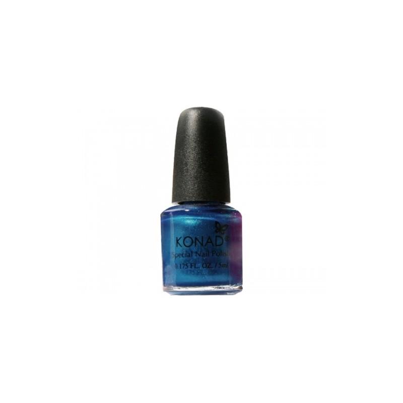 Konad - Esmalte especial pequeño (5 ml) 28 BLUE PEARL