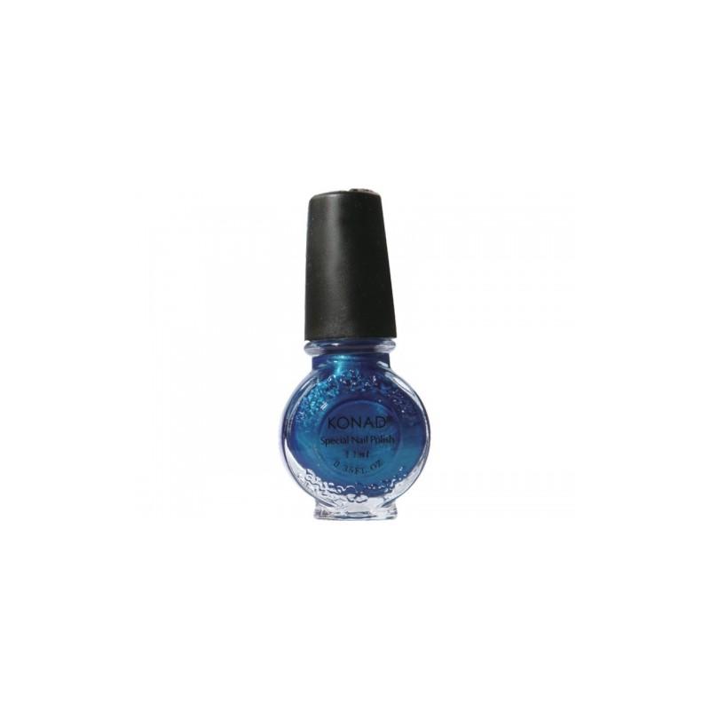 Konad - Esmalte especial grande (11 ml) 28 BLUE PEARL