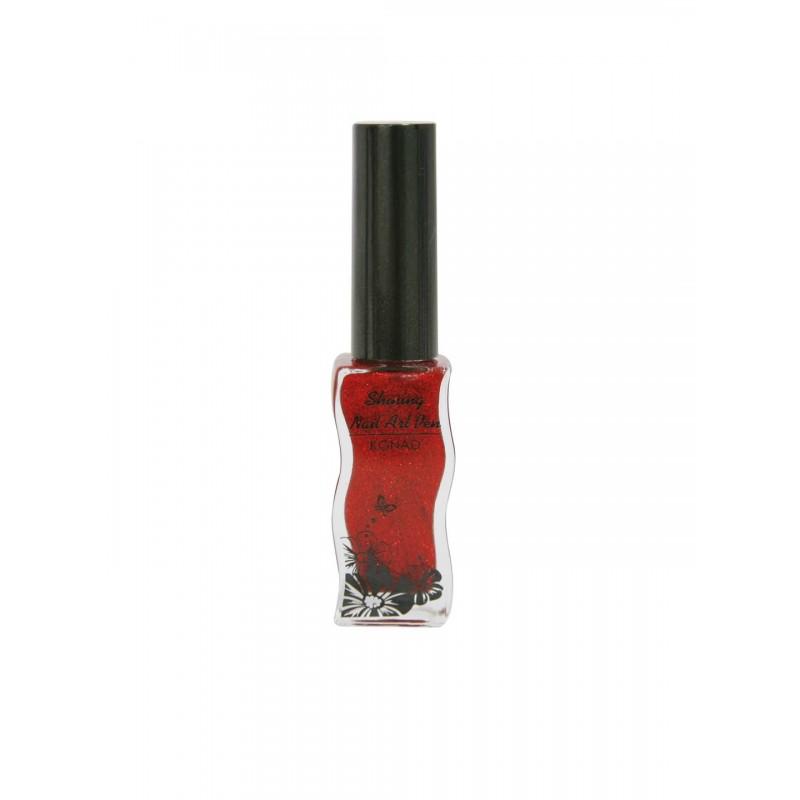 Shining Nail Art Pen KONAD A501 Red