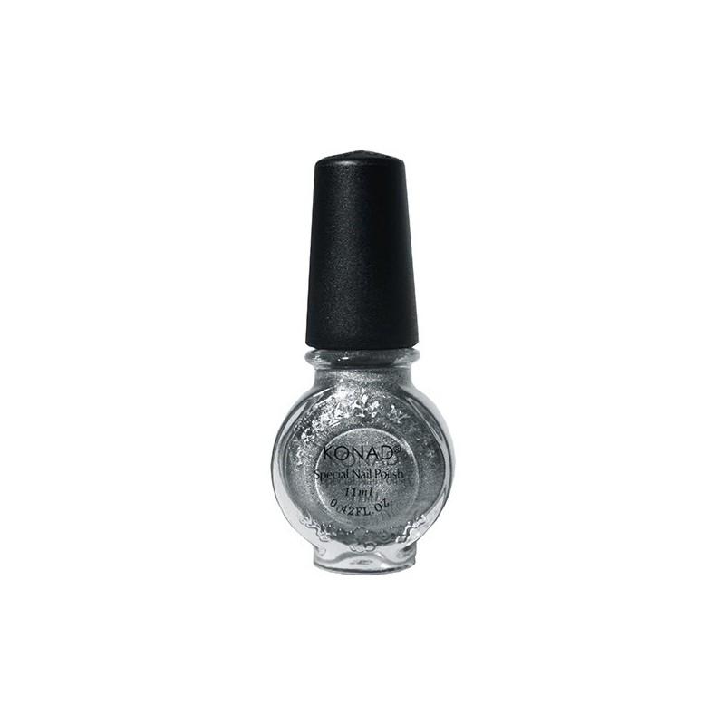 Esmalte Especial KONAD (11ml) g53 Powdery Silver