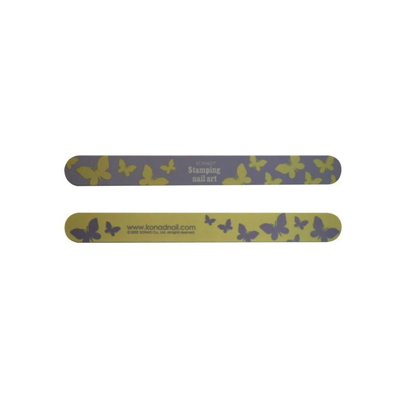 Lima de Uñas 100/180 (Diseño Amarilla)