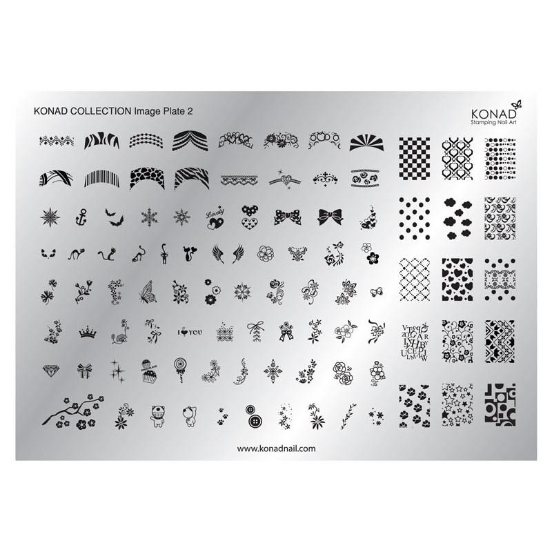 Placa colección 01 Konad