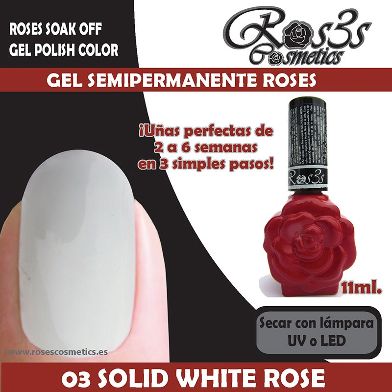 03_White Rose_Esmalte permanente Roses