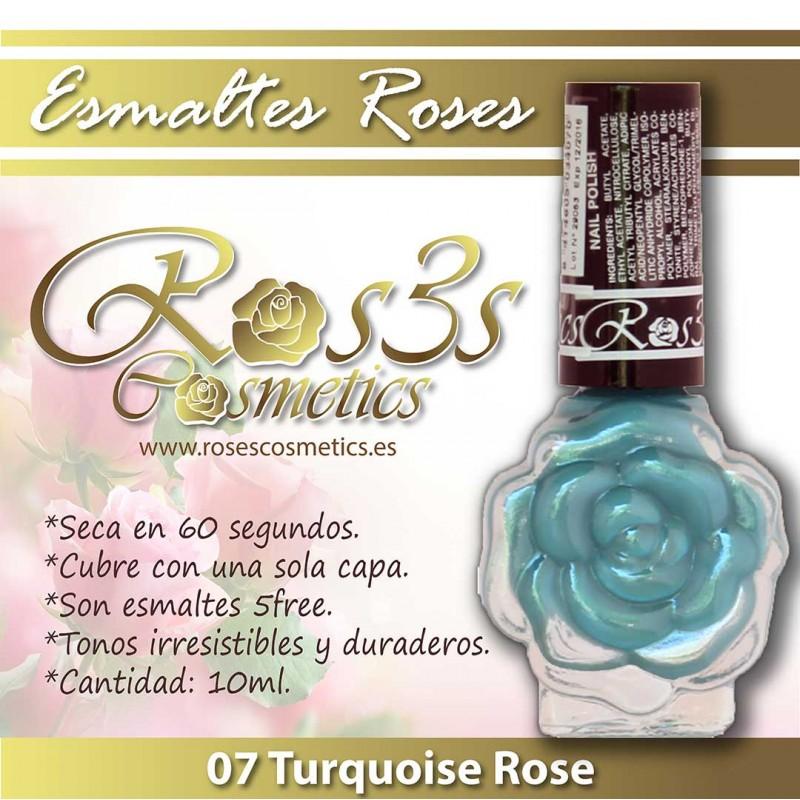 Esmalte Ros3s (10ml) 07 Turquoise Rose