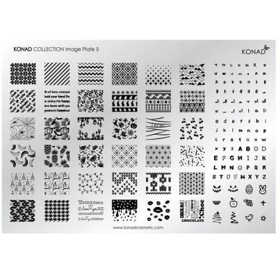 Placa colección 05 Konad