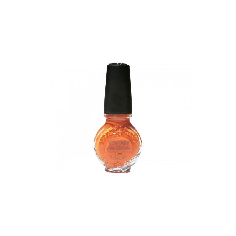Konad - Esmalte especial grande (10/11 ml) 10 PASTEL ORANGE