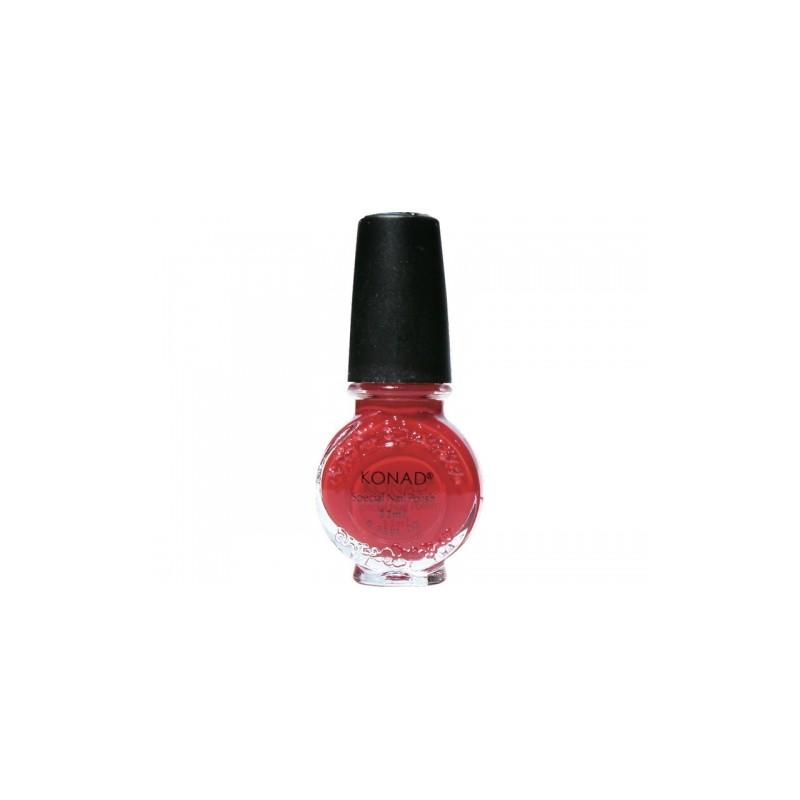 Konad - Esmalte especial grande (10/11 ml) 15 RED