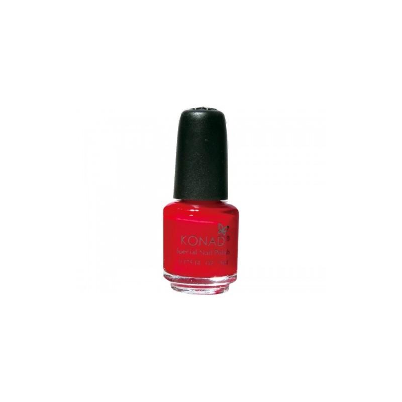 Konad - Esmalte especial pequeño (5 ml) 15 RED