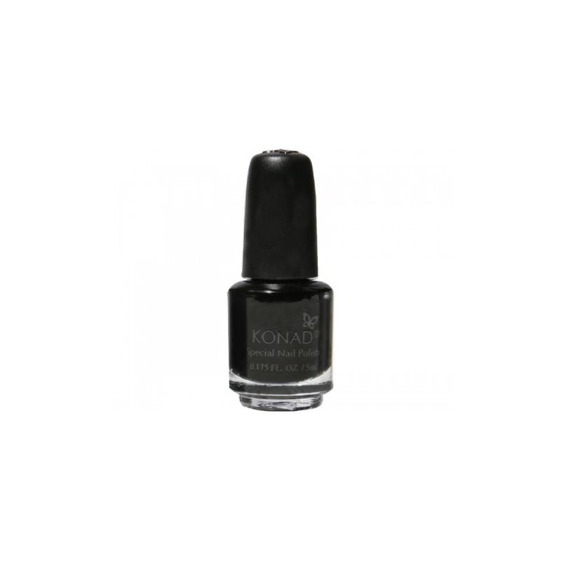 Konad - Esmalte especial pequeño (5 ml) 25 BLACK