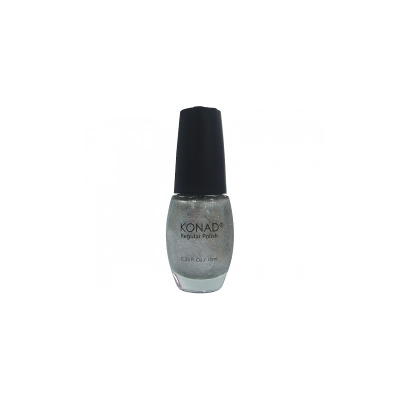Konad - Esmalte regular 10 ml 35 ICE SILVER