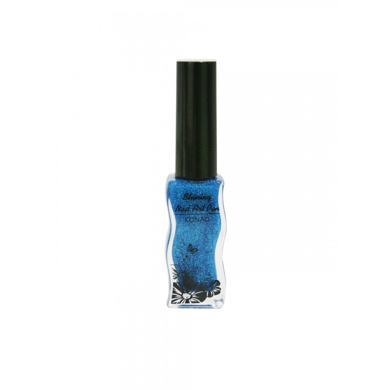 Shining Nail Art Pen KONAD A701 Blue