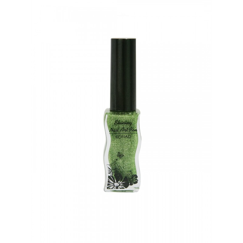 Shining Nail Art Pen KONAD A801 Green