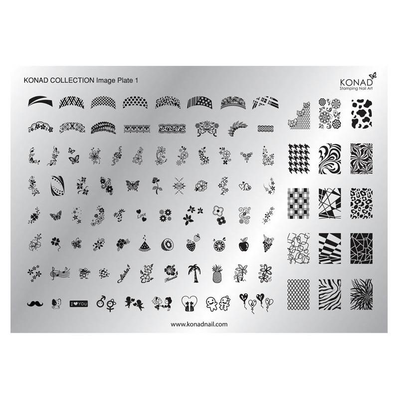 Placa colección 01